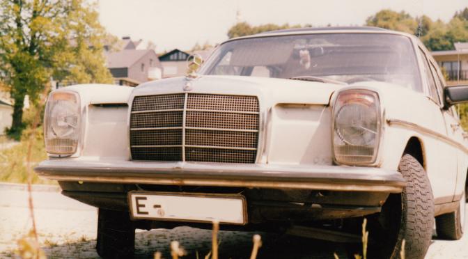 Der Mercedes /8 der Erste eigene Benz