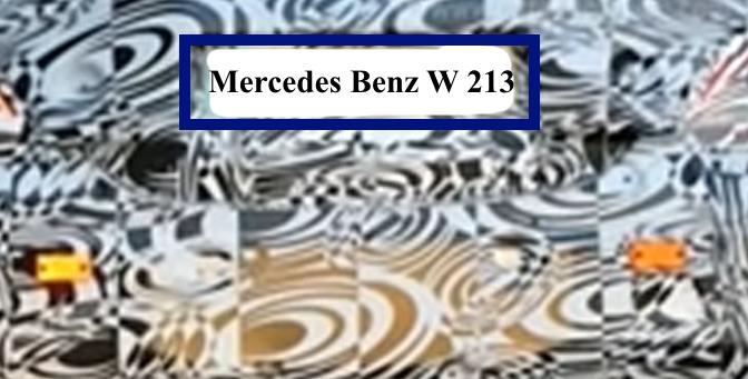 Mercedes Benz W213 Erlkönig Fotos & Video