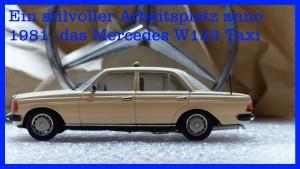 Mercedes Benz W123 Taxi