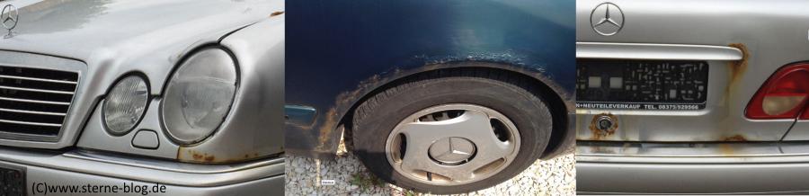 Rostproblematik Mercedes Benz W210