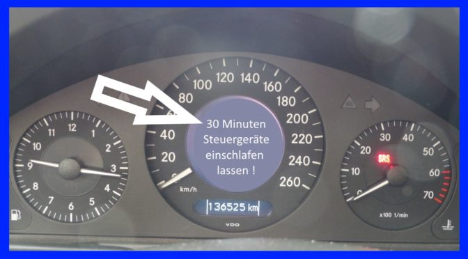 Mercedes W211 Zusatzbatterie tauschen SBC Fehlermeldungen