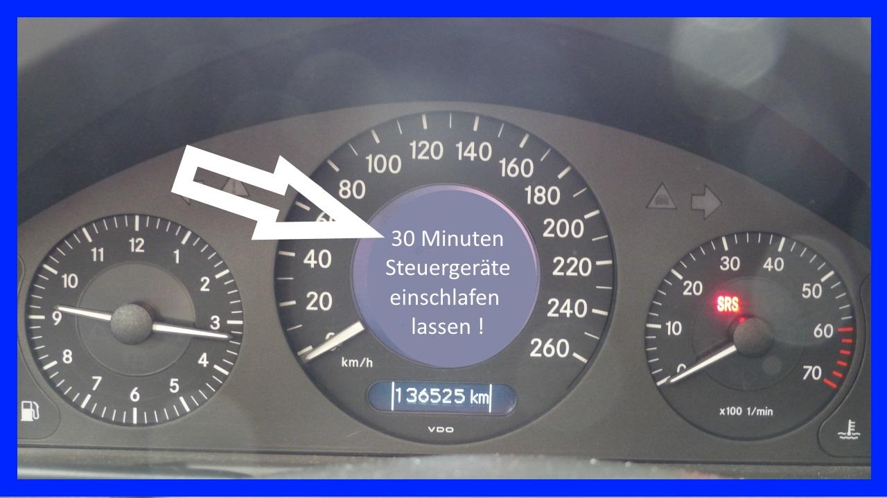 Mercedes W211 Zusatzbatterie tauschen