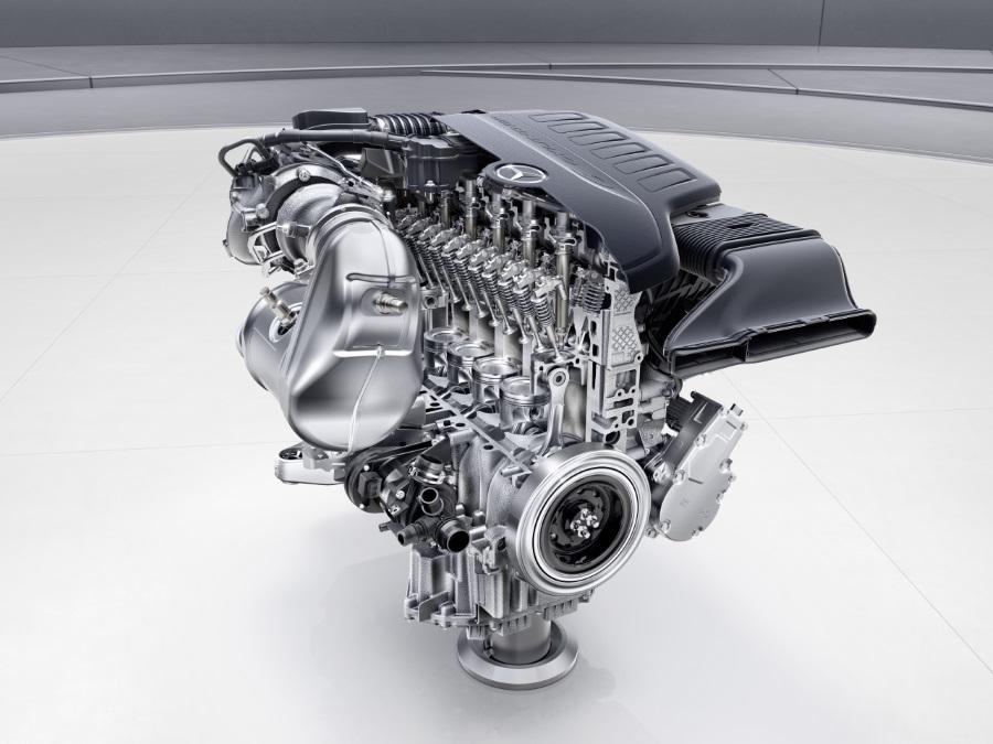 Mercedes Reihensechszylinder M256
