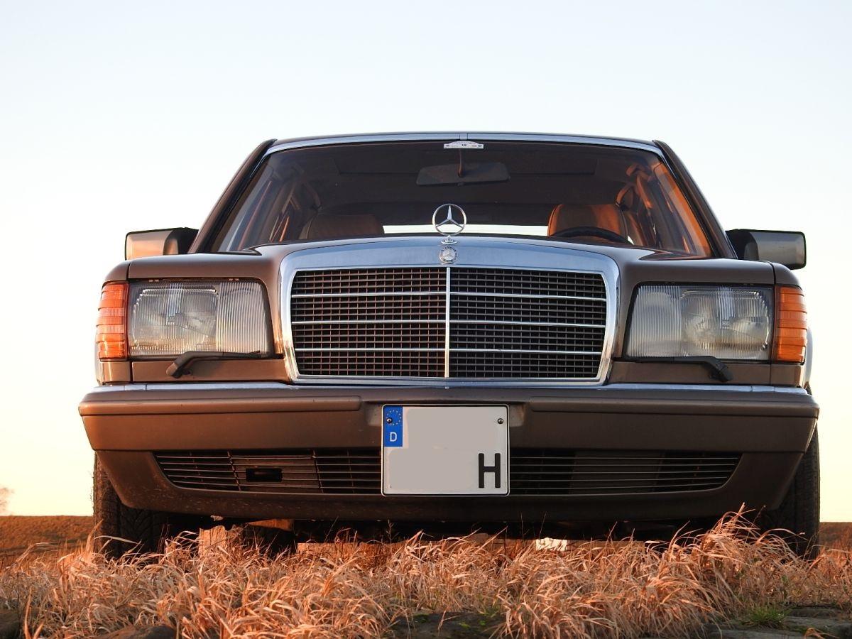 Mercedes W126 Turbodiesel Versuchsträger