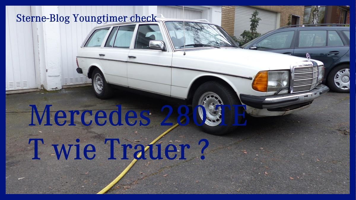 Kaufberatung Mercedes W123 T Modell 280TE Das T(rauer) Modell ?