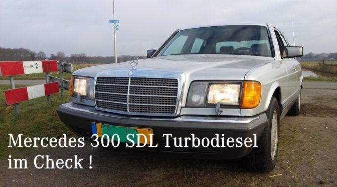 Mercedes W126 300 SDL Turbodiesel Baumuster V126
