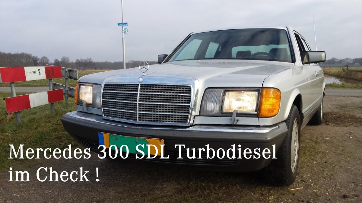 Mercedes W126 300 SDL Turbodiesel