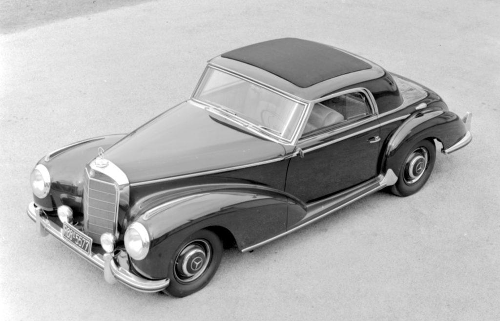 40 Jahre Mercerdes C124 Coupe. Urahne Mercedes W188 300 S Coupé gebaut von 151 bis 1958