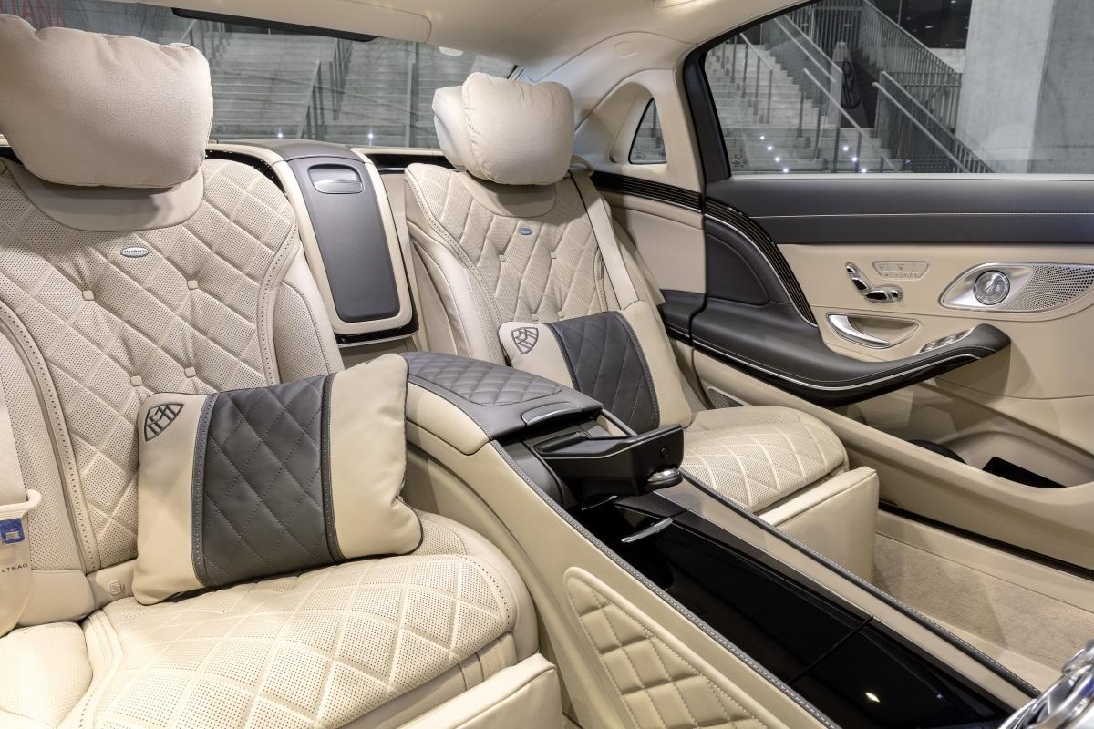 Mercedes S-Klasse Facelift W222. Wellness Oase im Font inklusive Beduftung aus der Klimanlage