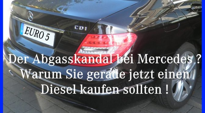 Abgasskandal Mercedes 2017