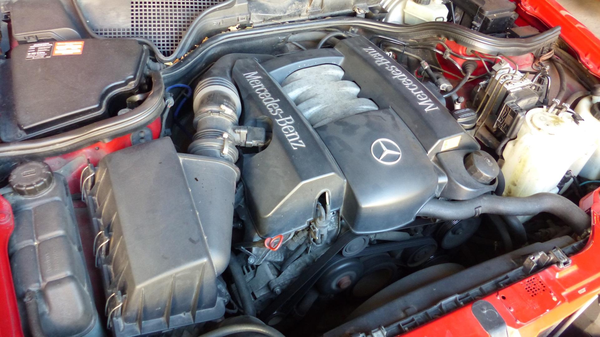 Mercedes Benz M112 V6 Benzin Motor