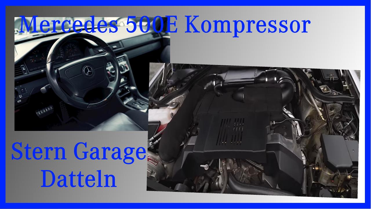Stern Garage Datteln M119 Kompressor