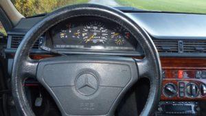 Mercedes Benz W14 500E Sportlenkrad leder