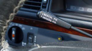 Mercedes 500E W125 Tempomat