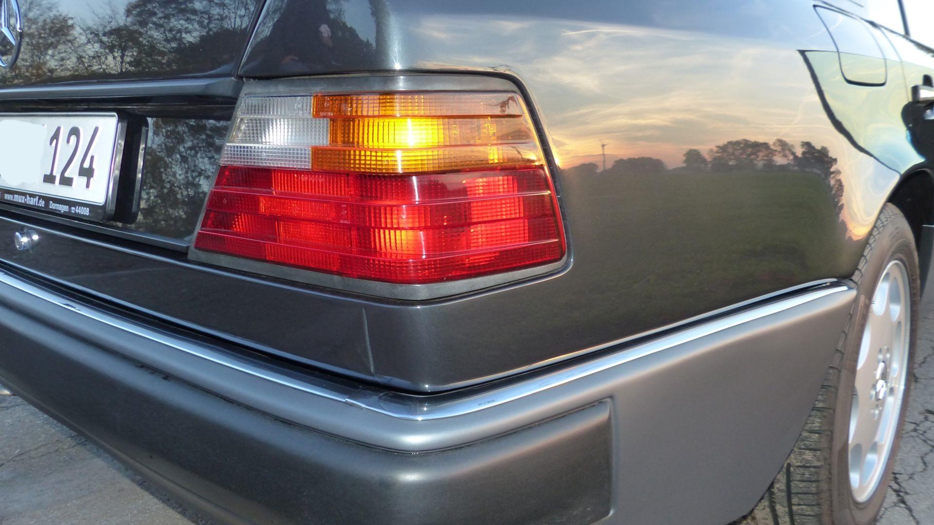 Mercedes W124 500E Heckansicht