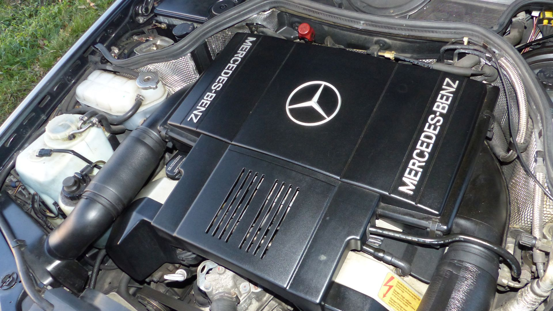 Mercedes 500E V8 Motor M119