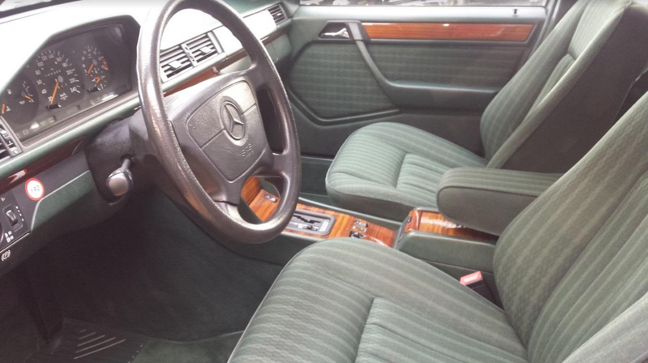 BERSA Classic Steinfurt Mercedes S124 250TD Interiueir