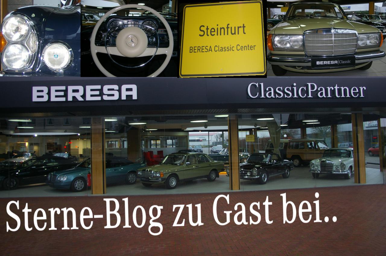 Sterne Blog zu Gast bei: Mercedes Classic Center Steinfurt
