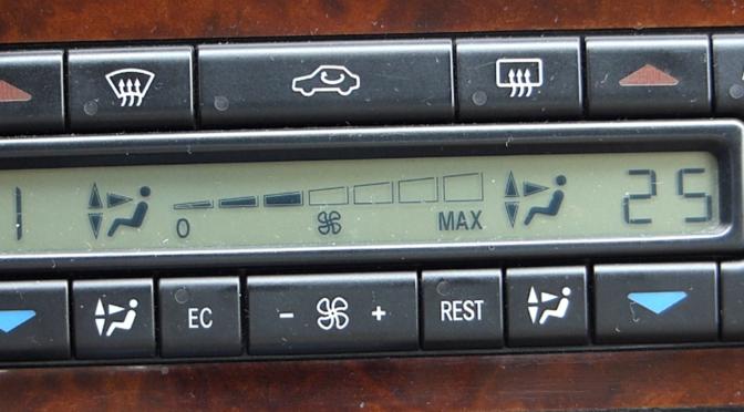 Mercedes W140 W210 Klimabedienteil Fehlercode auslesen