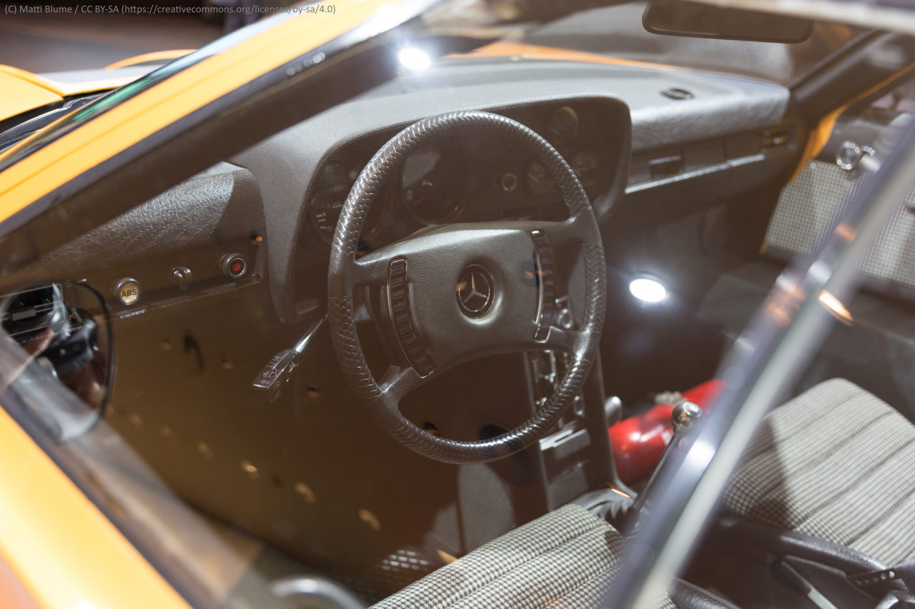 Mercedes C111 Cockpit.