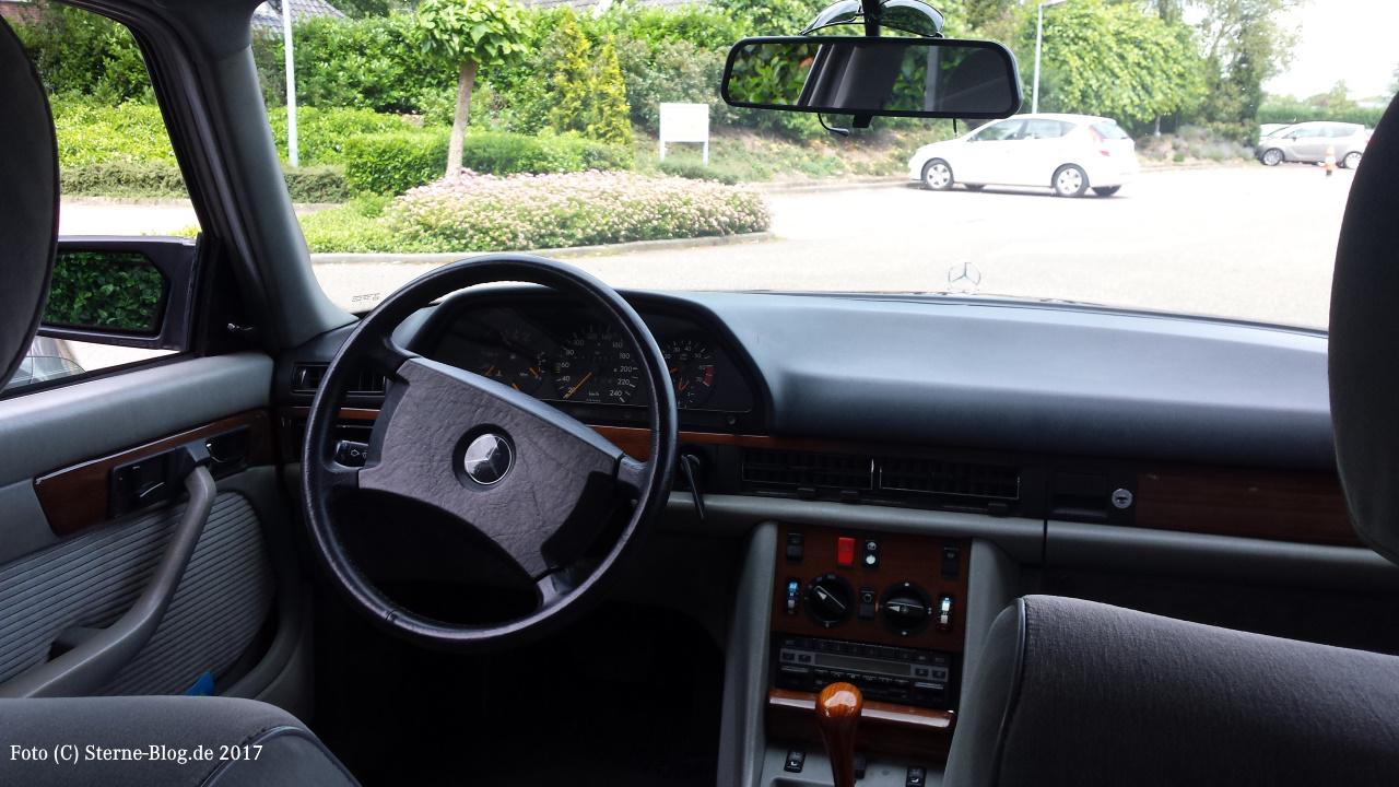 Mercedes Benz S Klasse W126 Armaturenanlage