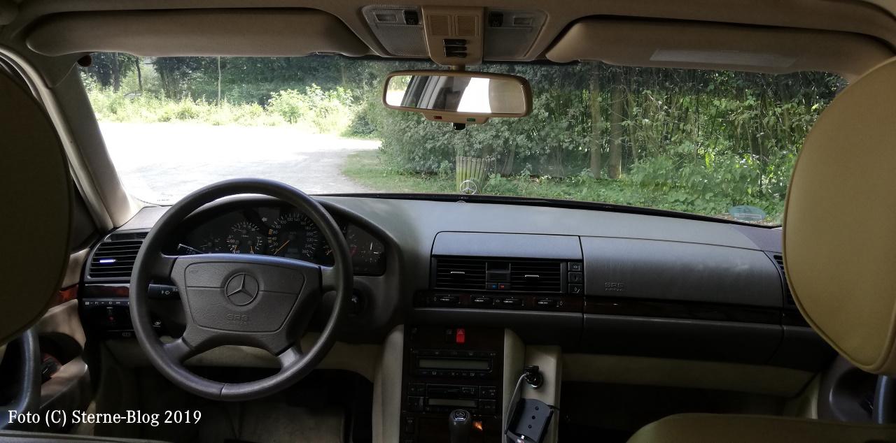 Armaturenanlage und Interieur Mercedes Benz S Klasse W140