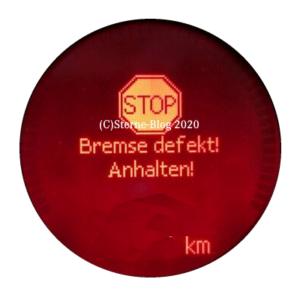 Mercedes W211 SBC Bremse defekt Anhalten !